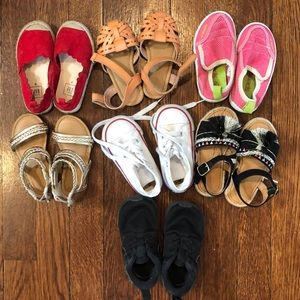 Other - Assorted kids shoes - toddler size 6